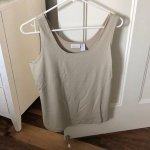 Chico's Tan Tank Top (size 1)